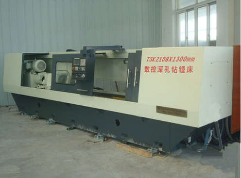 TSK2108 BTA deep hole processing machine tool