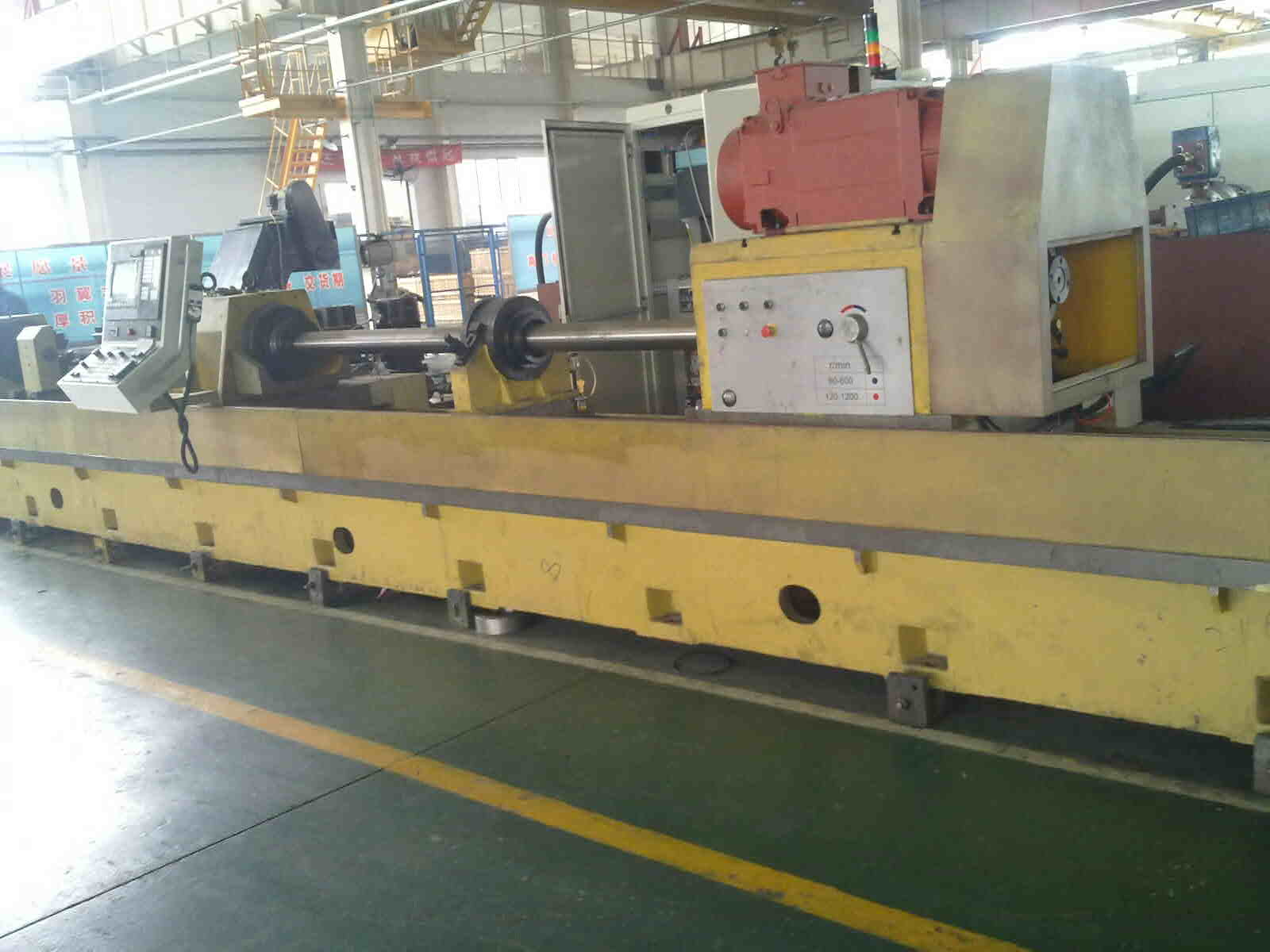 TGK25/TGK35 CNC deep hole scraping rolling machine
