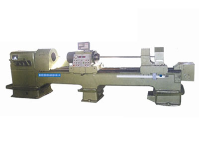 Lathe modification of deep hole